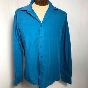 Mens Blue Shirt. Size Small(14)
